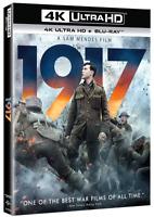 1917 (4K + Blu Ray) NEW!! (No Digital) W/ SLIPCOVER *FAST FREE SHIP*