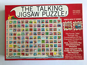 THE OFFICE BUILDING Talking Puzzle 560 pc Don Scott 1991 Buffalo Games COMPLETE