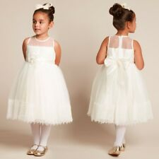 COUCHE TOT GIRLS IVORY TULLE SPECIAL DRESS 3-4 YEARS