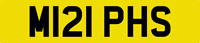 GREAT MURPHY NUMBER PLATE MURPHS CAR REGISTRATION M121 PHS WITH ALL FEES PAID
