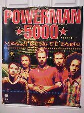 Powerman 5000 'Mega Kung Fu' Promo Poster
