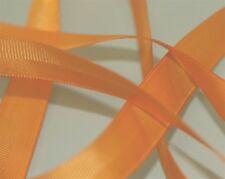 "Orange Satin/Grosgrain Double Band Ribbon 5/8"" - 13yds 31"""