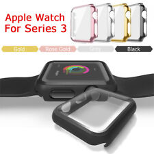 Apple Watch Series 3 Full Protective Case& Screen Protector Cover iWatch 38/42mm