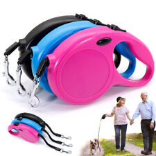 5m Retractable Dog Lead for Small Medium Dog Automatic Pet Extendable Nylon Rope