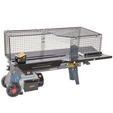 STAHLMANN® Hydraulik-Holzspalter, 7 Tonnen, verstellbarer Spaltweg, liegend