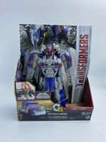 Transformers The Last Knight Armor Turbo Changer Optimus Prime Action Figure NEW