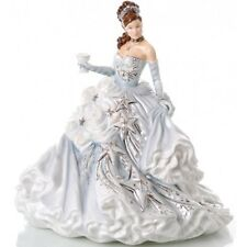 The English Ladies Company Figurine : Congratulations Silver Height 22cm