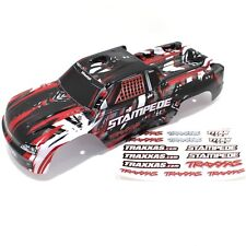Traxxas Stampede Truck Body Red Black White Grey Painted XL5 VXL 2wd 4x4