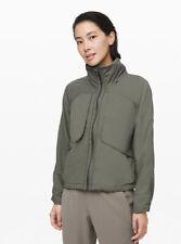 NWT Lululemon Always Effortless Jacket Grey Sage Size 6