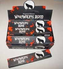 WEREWOLVES BLOOD Incense YOU CHOOSE QUANTITY *Free Shipping* Werewolf Gothic