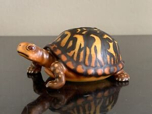Herend Hungary Guild Collection Bisque Turtle