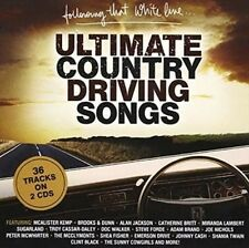 Following That White Line Ultimate Country Driving Songs 2-disc CD NEW