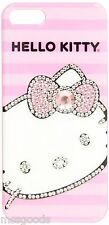 Genuine Hello Kitty Bling Crystal Diamond Hard Case Cover For iPhone SE 5 5s NIB