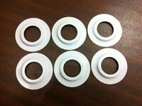 6 X  Metal Lamp Shade Reducer Plate Washer adaptor Converter Light Fitting Ring