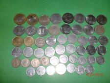 - INDIA COINS LOT OF 51 OLD & NEW - 1974-2017 - ALL DIFFERENT - NO DUP./ALM.#51A