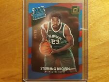 STERLING BROWN BUCKS 2017-18 DONRUSS RATED RC FOIL #04/99 RED MINT IN CASE RC!