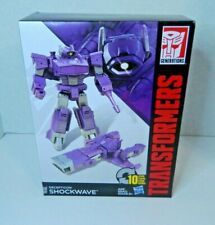 TRANSFORMERS GENERATIONS BATTALION SERIES SHOCKWAVE