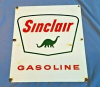 SINCLAIR GASOLINE PORCELAIN PUMP VINTAGE STYLE SERVICE STATION DINOSAUR SIGN
