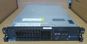 IBM X3650 M2 2U Server 2 x QUAD-CORE E5540 16GB RAM RAID 2 x PSU