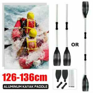 Durable Aluminium Kayak Paddles Lightweight Join Together Boat Oars