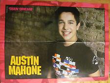 Austin Mahone, Carly Rae Jepsen, Four Page Foldout Poster
