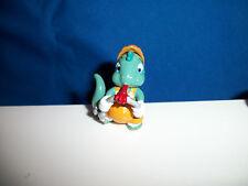 CONSTRUCTION Fire Breathing Dragon WELDING PIPE Cartoon DINOSAUR Figure Kinder