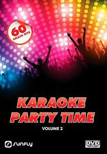 PARTY TIME VOL 2  SUNFLY KARAOKE DVD - 60 HIT SONGS
