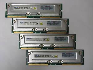 2GB 4x512MB 1066-32 RDRAM Rambus 4 HP  ES47 ES80 GS1280 3X-MS7AC-CA 20-1E17B-01