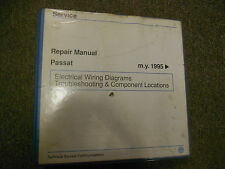 1995 96 97 VW PASSAT EWD Troubleshooting Components Service Manual OEM BOOK 95