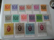 Hong Kong 1985 Definitive 10c to $50 SG471-487 No Watermark Fresh U/M Cat £100