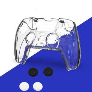 Custodia rigida case per gamepad PlayStation 5 PS5 + 4 tappini levetta analogica