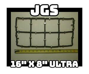 """16"""" x 8"""" ULTRA DWC Hydroponic System Air Stone Diffuser Aerator 1/4"""" OD DIY GYO"""