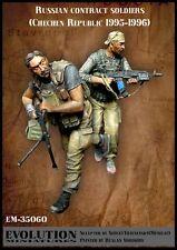 Escala 1/35 Kit De Resina contrato ruso Soldados (República de Chechenia 1995-1996)