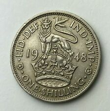 Dated : 1948 - One Shilling Coin - King George VI - Great Britain