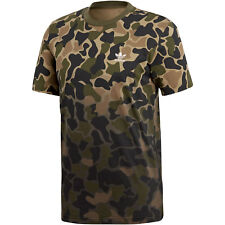 Adidas Camo Tee hombre T-Shirt Camouflage m verde