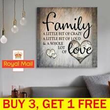 Full Drill FAMILY LOVE DIY 5D Diamond Painting Cross Stitch Kit Home Wall Decor