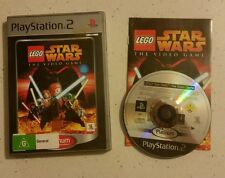 Lego Star Wars The Video Game PS2 Game - Platinum - Complete - Fast Free Post