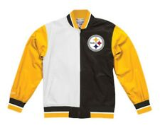 Pittsburgh Steelers Mitchell & Ness NFL Men's Team History Warm Up Jacket 2.0