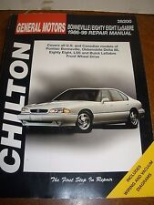 Haynes Repair Manual: GM Bonneville, Eighty-Eight, and Lesabre 1986-1999 Chilton