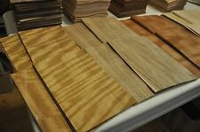 """Wood Veneer - 4 Different kinds, total of 60+ sheets, each 5""""x8""""      IC41"""