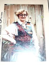 VINTAGE *DOS de TEJAS* BOUTIQUE SEWING PATTERN - SOUTHWEST CHAMELEON VEST