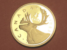 1983 Canada 25 cents proof   (lower your cost with combined shipping)