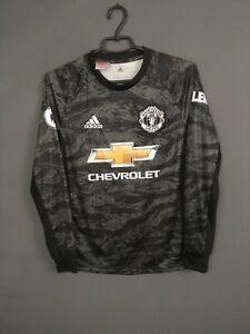 Manchester United Jersey 2019/20 Goalkeeper Kids Boys 13-14 y Shirt DX8951ig93