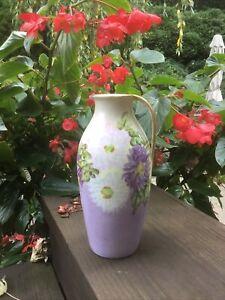 Antique ROSENTHAL RC Bavaria Vase Hand Painted Astrid