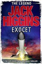 JACK HIGGINS __ EXOCET ___ BRAND NEW ___ FREEPOST UK