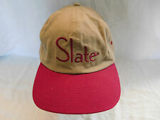 Microsoft MSN Slate Baseball Cap Dad Hat Strapback