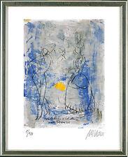 Armin Mueller-Stahl (geb. 1930), Harlekin und Columbine (nach Picasso), 2014
