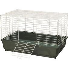Large Green Rabbit Wire Cage Metal Habitat Ferret Guinea Pig Small Pet Enclosure