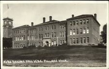 Pullman WA WSC State College Science Hall c1915 Real Photo Postcard dcn