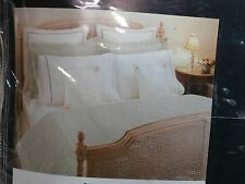 Tommy Hilfiger Queen Flat Sheet Dune Road Pink Trim New in Package